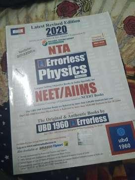 Error less physics neet book