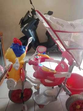 Sepeda family roda 3