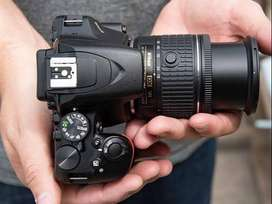 Nikon D3500 + 18-55 mm - 1 year old
