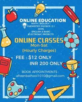 Iam an online tutor