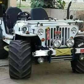 Modified open Jeeps