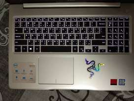 Dell Inspiron 15 5570 i7 8th generation ( Good condition with no tear)