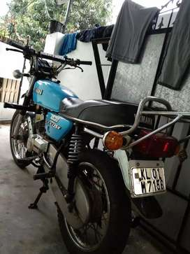 Rx135 4 speed for sale bike in mint condition.