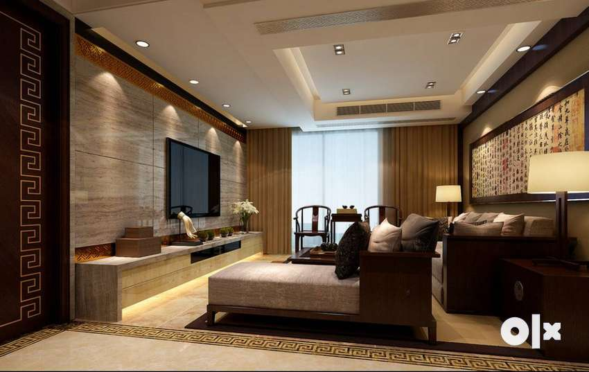 1640 sqft 3 BHK apartment with many amenities on Aiport Road