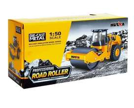 Huina 1715 Diecast Alat Berat Metal Road Roller Truck 150