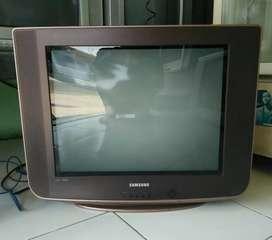 Tv Samsung 21 inci slim layar datar