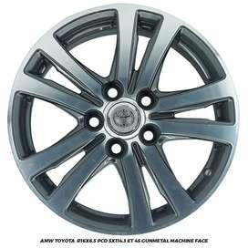 Velg Innova Luxio Ertiga APV AMW Toyota  R16X6.5 5x114.3 ET 45