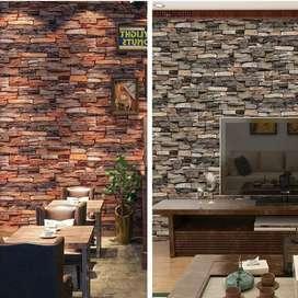 Interior Design Wallpapee Dinding Minimalis ctl.123