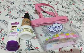 Set Cream Diapers,Lotion,Make Over