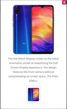 Redmi Note 7 Pro for sale