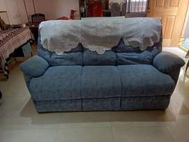 3 Seater sofa and 2 individual Recliners