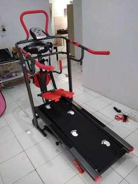 Alat Olahraga Treadmill Manual 6 fungsi COD Majalengka