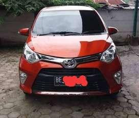 Toyota Calya tahun 2016 Metic Pemakaian 2017