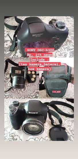 Kamera Snoy DSC h300