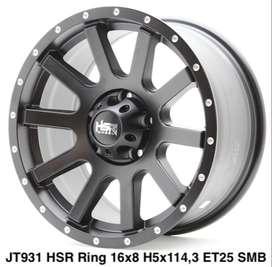 velg murah HSR ring 16 for BRV xpander innova H5x114,3