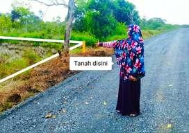 Tanah Uk.11x23 SHM Pinggir Jalan Umum Daerah Handil Bakti Banjarmasin