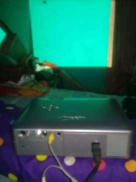 Jual lcd proyektor sharf lampu terang mulus