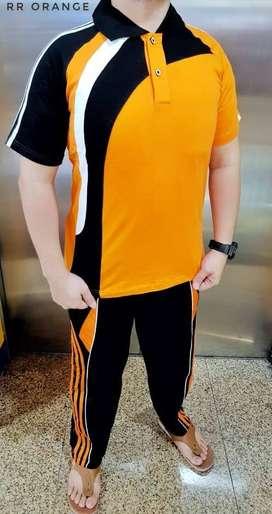 Setelan Kaos Training Olahraga Lengan Panjang Gym Fitness Jogging