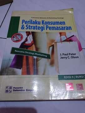 Buku Perilaku konsumen strategi pemasaran