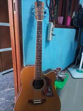 Jual gitar akustik sudah tanam besi