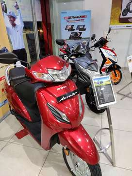 12500/- down payment on activa 6g STD