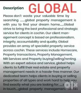 For  all  types  of  rental  assistance in cochin.global property mgnt