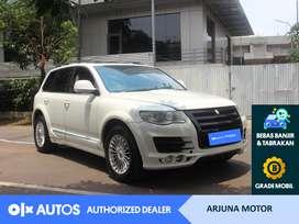 [OLX Autos] Volkswagen Touareg 2008 2.5 Diesel A/T Putih #Arjuna Motor