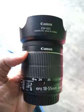Canon lens 18 55 is stm
