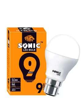 LED Bulb 9 Watt SONIC Brand