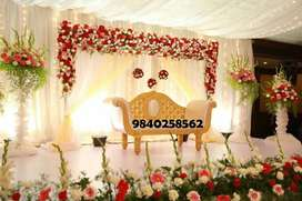 Stage Decorations Car Decorations Wedding Hall Decorations In Chennai