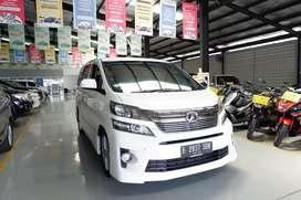 Toyota Vellfire ZG Audioless AT 2012 (Pajak Panjang)