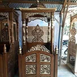 mimbar masjid simple