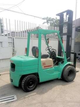 Mitsubishi Forklift 3.5 ton FD35 EX-jepang