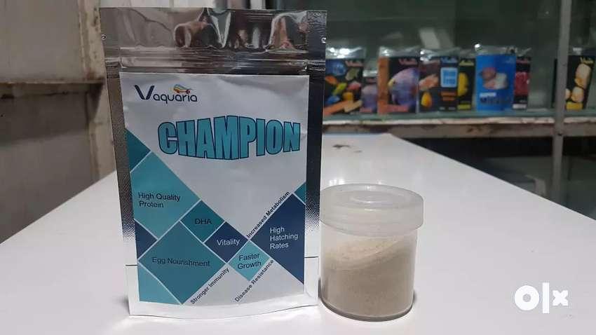 Champion  - Aquarium Fish Food  Enchancer 0