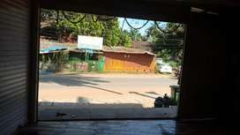 Road facing resturant on lease on the baga main road