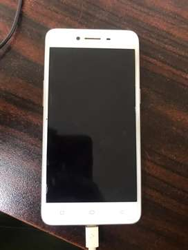 Oppo A37 gold clr box and cell