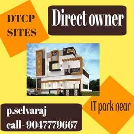DTCP PLOT FOR Sale in Saravanampatti IT company
