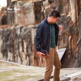 Jaket Gaya Korea Casual Style Men's | Jaket Hits | Crowsdenim SK-74