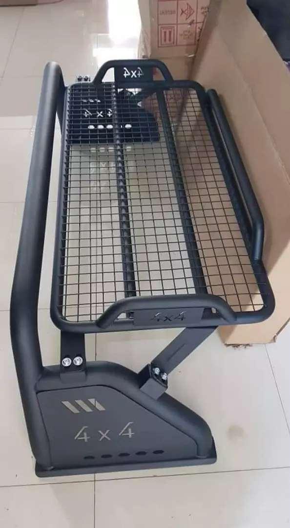 Rollbar plus rack atas hilux