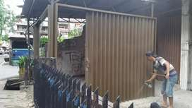 Folding gate rolling door baru terbaik. Zmsm
