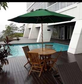 Meja payung jati,meja cafe,meja taman,kursi taman lipat,meja outdoor