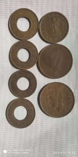 Old coin of ancient period