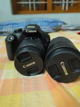 Canon 1200d with 2 lenses