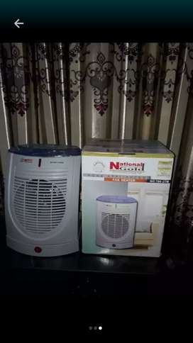 Electric blower heater