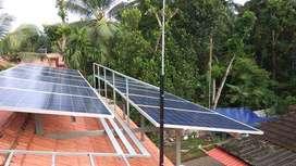 Solar Power Plant 3 KW Grid