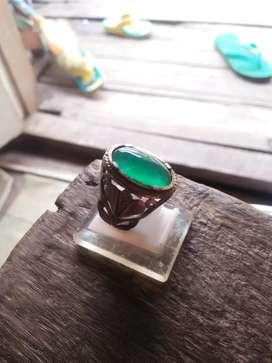Di jual cincin batu bacan ring perak