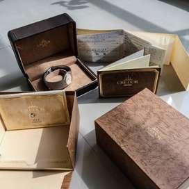 Seiko Credor Bezel D Mens Quartz Wrist Watch - Vintage