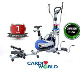 Orbitrecks with Dumbbells & Twisters attached in cardioworld