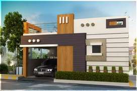 2 bhk Villa @ near saravanampatty, corporation limt