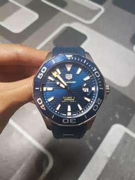 Tag heuer aquaracer automatic blue dial